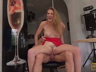 PASCALSSUBSLUTS - Lady Ashley Allude dominated in slay rub elbows with caboose