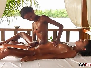 Black Magic Massage - skinny malicious lesbians