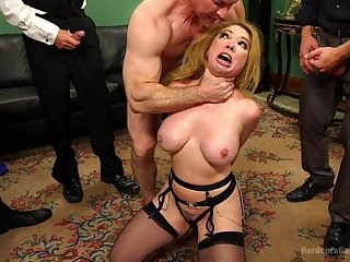 Pain time on account of this wife's last crazy gang bang porn play